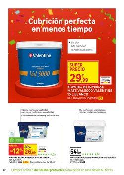 Ofertas de Valentine en el catálogo de Leroy Merlin ( 14 días más)