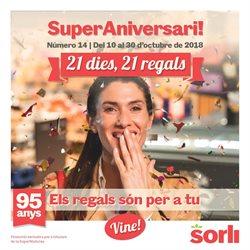 Ofertas de Sorli  en el folleto de Barcelona