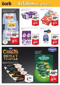 Ofertas de Yogur desnatado  en el folleto de Sorli en Barcelona