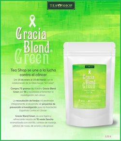 Ofertas de Restauración  en el folleto de Tea Shop en Pamplona