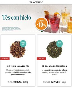 Ofertas de Tea Shop en el catálogo de Tea Shop ( Caducado)