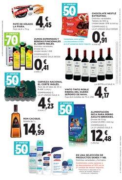 Ofertas de Cerveza  en el folleto de El Corte Inglés en Zaragoza