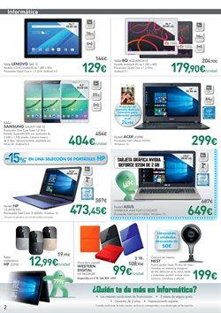 Ofertas de Tablet  en el folleto de El Corte Inglés en Madrid