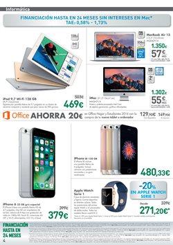Ofertas de IPhone  en el folleto de El Corte Inglés en Castellón de la Plana