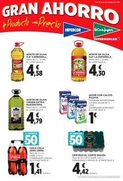 Ofertas de Hiper-Supermercados  en el folleto de El Corte Inglés en A Coruña