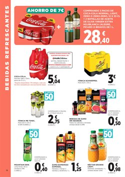 Ofertas de Coca-Cola  en el folleto de El Corte Inglés en Vigo