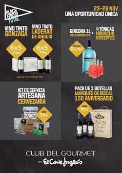 Ofertas de Vino tinto  en el folleto de El Corte Inglés en Madrid