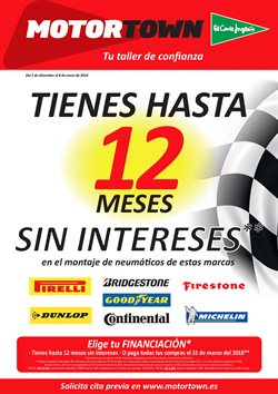 Ofertas de Neumáticos  en el folleto de El Corte Inglés en Madrid