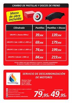 Ofertas de Pastillas de freno  en el folleto de El Corte Inglés en Madrid