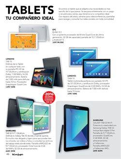 Ofertas de Tablet Samsung  en el folleto de El Corte Inglés en Madrid