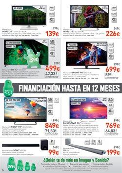 Ofertas de Tv led  en el folleto de El Corte Inglés en Zaragoza