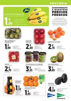 Ofertas de Plátanos de Canarias  en el folleto de El Corte Inglés en León