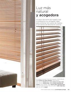 Ofertas de Cortinas  en el folleto de El Corte Inglés en Linares