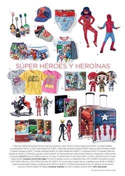 Ofertas de Spiderman  en el folleto de El Corte Inglés en Madrid