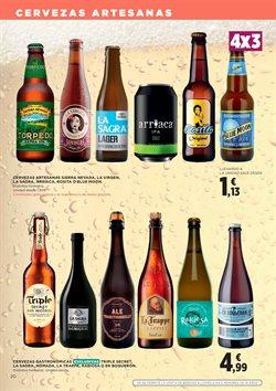 Ofertas de Cerveza  en el folleto de El Corte Inglés en León