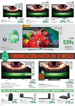 Ofertas de Panasonic  en el folleto de El Corte Inglés en León
