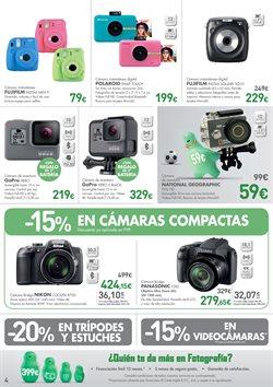 Ofertas de Cámara de fotos  en el folleto de El Corte Inglés en Madrid