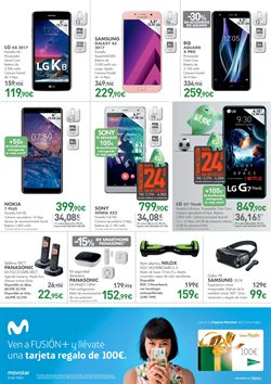 Ofertas de Smartphones  en el folleto de El Corte Inglés en León