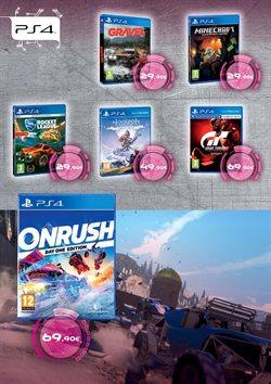 Ofertas de Juegos PS4  en el folleto de El Corte Inglés en Dos Hermanas