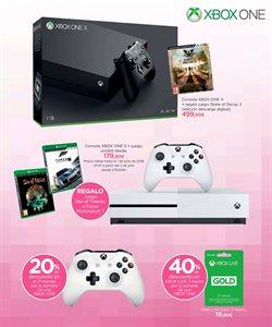 Ofertas de Xbox One  en el folleto de El Corte Inglés en Jerez de la Frontera