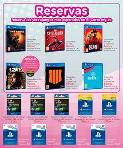 Ofertas de Juegos PS4  en el folleto de El Corte Inglés en Jerez de la Frontera