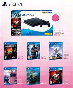 Ofertas de PS4  en el folleto de El Corte Inglés en Madrid