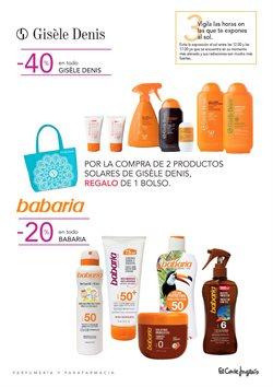 Ofertas de Babaria  en el folleto de El Corte Inglés en Madrid