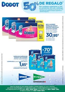 Ofertas de Dodot  en el folleto de El Corte Inglés en León