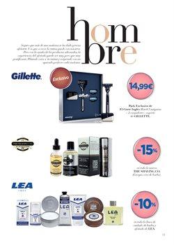 Ofertas de Gillette  en el folleto de El Corte Inglés en Castelldefels