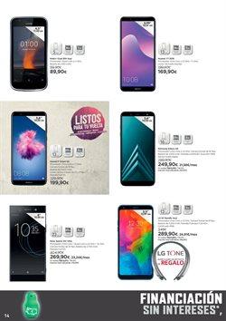 Ofertas de Smartphones LG  en el folleto de El Corte Inglés en Dos Hermanas