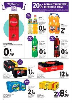 Ofertas de Coca-Cola  en el folleto de El Corte Inglés en San Cristobal de la Laguna (Tenerife)