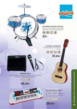 Ofertas de Instrumentos musicales  en el folleto de El Corte Inglés en León