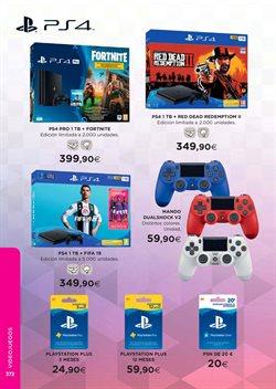 Ofertas de PS4  en el folleto de El Corte Inglés en León