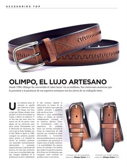 Ofertas de Cinturón  en el folleto de El Corte Inglés en Madrid