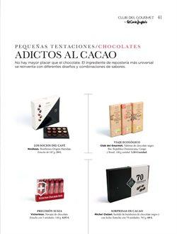 Ofertas de Chocolate  en el folleto de El Corte Inglés en El Puerto De Santa María