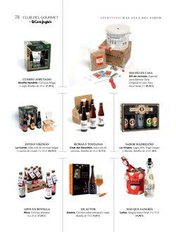 Ofertas de Cerveza belga  en el folleto de El Corte Inglés en Telde