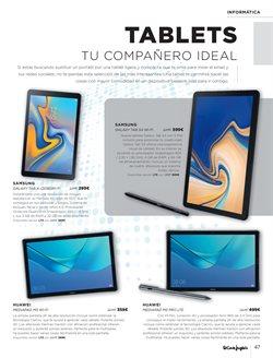Ofertas de Tablet BQ  en el folleto de El Corte Inglés en León