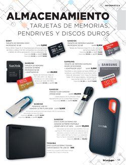 Ofertas de Sandisk  en el folleto de El Corte Inglés en León