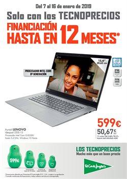 Ofertas de Ordenador portátil  en el folleto de El Corte Inglés en Madrid