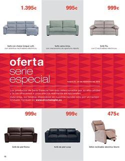 Ofertas de Sofá cama  en el folleto de El Corte Inglés en Barcelona