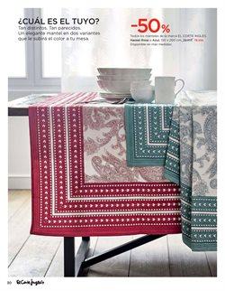 Ofertas de Textiles comedor  en el folleto de El Corte Inglés en Santa Cruz de Tenerife