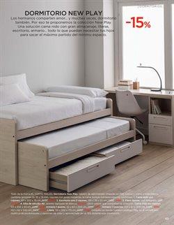 Ofertas de Dormitorio juvenil  en el folleto de El Corte Inglés en Alicante