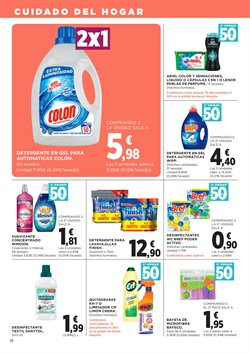 Ofertas de Detergente  en el folleto de El Corte Inglés en Las Palmas de Gran Canaria