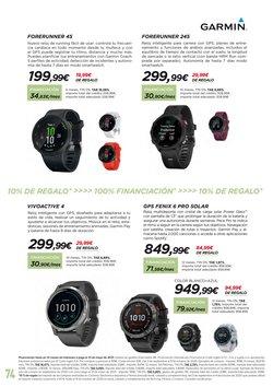 Ofertas de Smartwatch en El Corte Inglés