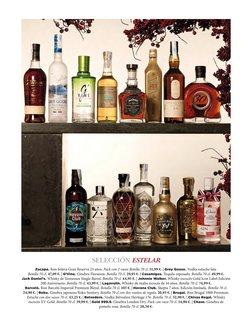 Ofertas de Vodka en El Corte Inglés