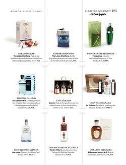 Ofertas de Gin Mare en El Corte Inglés