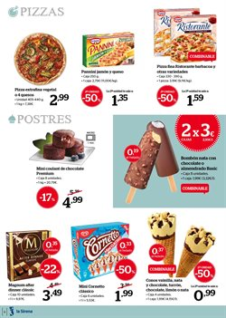 Ofertas de Pizza  en el folleto de La Sirena en Madrid