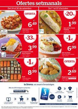 Ofertas de Nuggets  en el folleto de La Sirena en Palamos