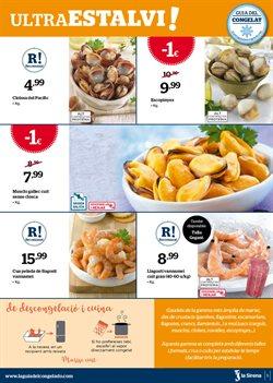 Ofertas de Langostinos  en el folleto de La Sirena en Palamos