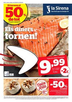 Ofertas de Hiper-Supermercados  en el folleto de La Sirena en Premià de Mar